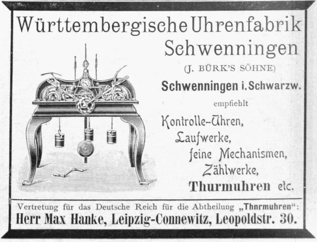 antike Stempeluhr